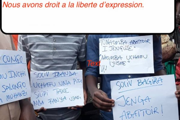 « Rhulye et Muyomeka »  La société civile et des mouvements citoyens à la conquête du terrain dans la ville de Bukavu