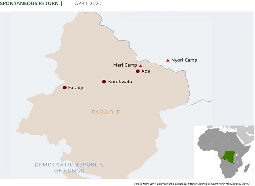 « Ils sont rentrés chez eux »: the political dimensions of displacement and 'spontaneous return' in Faradje, northeast DRC