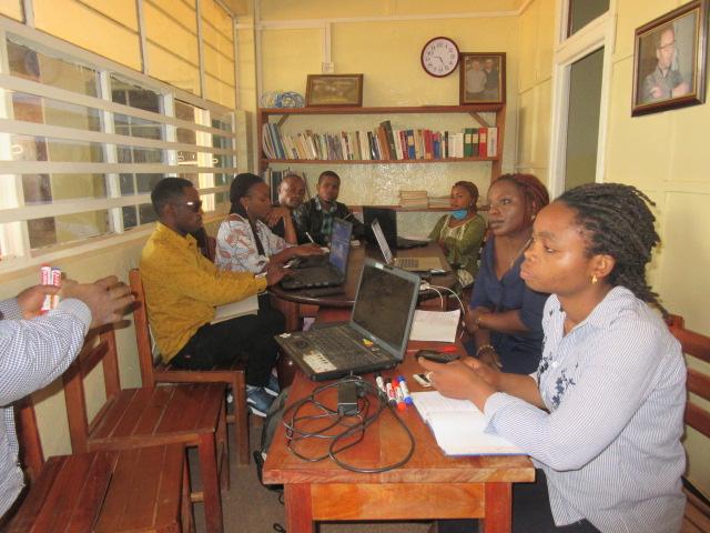 Atelier de formation des chercheurs du GEC-SH sur la conception et la redaction d'un projet 3