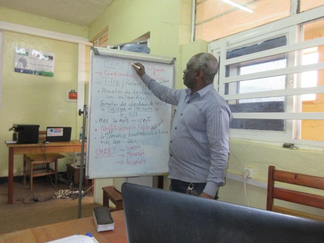 Atelier de formation des chercheurs du GEC-SH sur la conception et la redaction d'un projet 2
