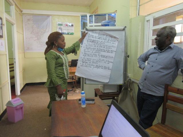 Atelier de formation des chercheurs du GEC-SH sur la conception et la redaction d'un projet 1