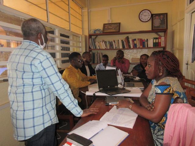 Atelier de formation des chercheurs du GEC-SH sur la conception et la redaction d'un projet 4