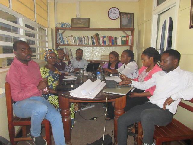 Atelier de formation des chercheurs du GEC-SH sur la conception et la redaction d'un projet 5