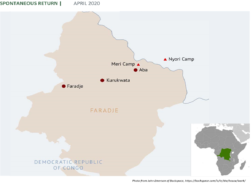 « Ils sont rentrés chez eux »: the political dimensions of displacement and 'spontaneous return' in Faradje, northeast DRC